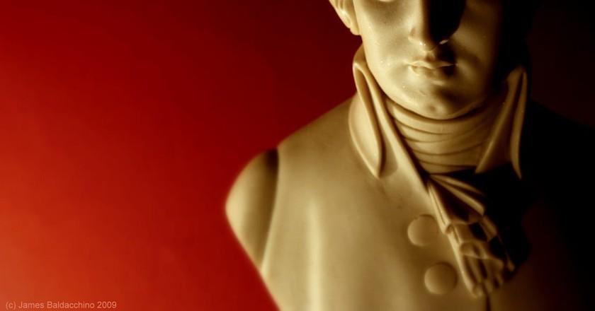 Bust of Mozart | © Beta-J / Flickr