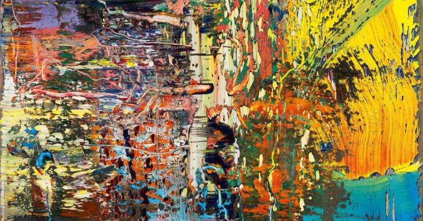 Gerhard Richter 'Abstraktes Bild (947-3)'   © Gerhard Richter 2017/Dresden State Art Collections