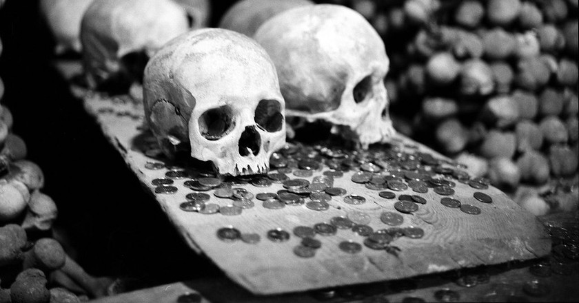 Bones at the Kutna Hora Ossuary | © Dominik Pierce / Flickr
