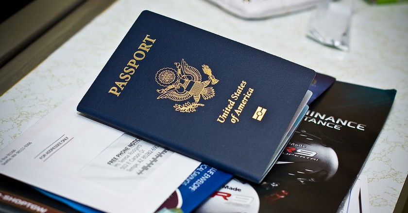 U.S. Passport | © Sean Hobson