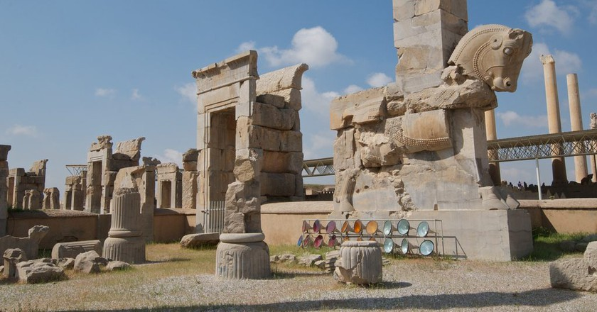 The ancient ruins of Persepolis | © Alan / Flickr