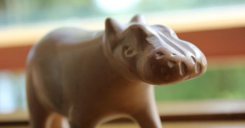 Soapstone hippo | © Nils Norman/Flickr