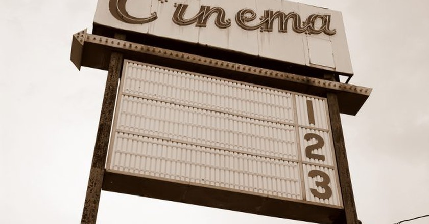 Cinema sign | © Steve Snodgrass