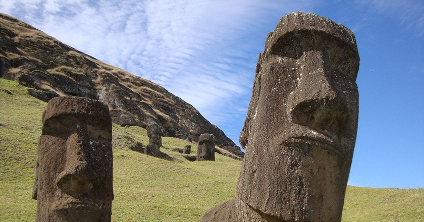 Moai statues of Easter Island | © Iñi Piñi / Flickr