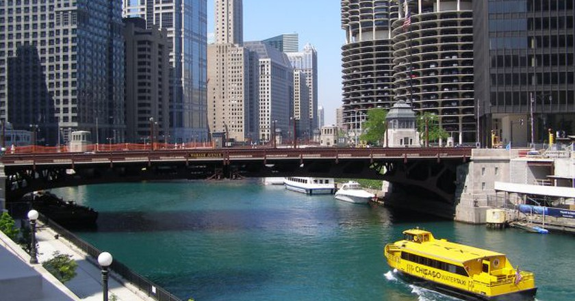 Chicago Water Taxi | © Sean Hayford Oleary / Flickr