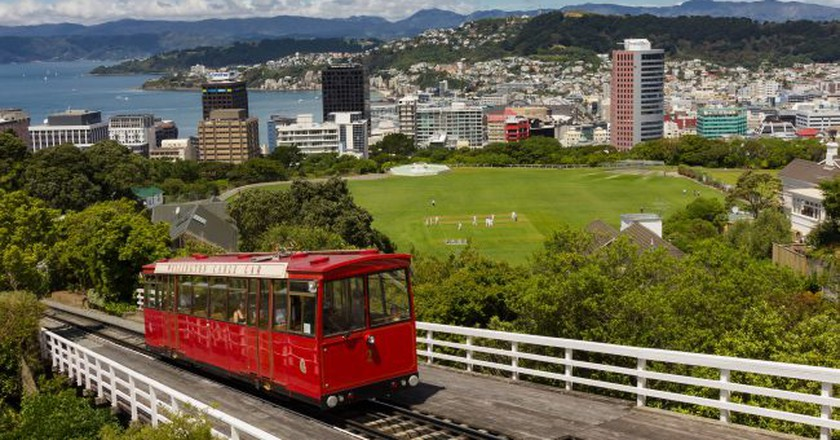 Wellington Cable Car | © LasseLeth/Flickr