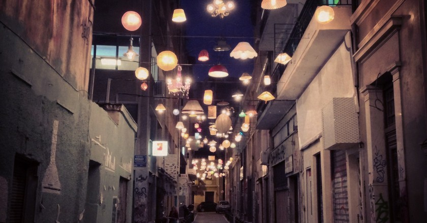 The Lights in Pittaki Street, Athens | © sixtwelve / Flickr