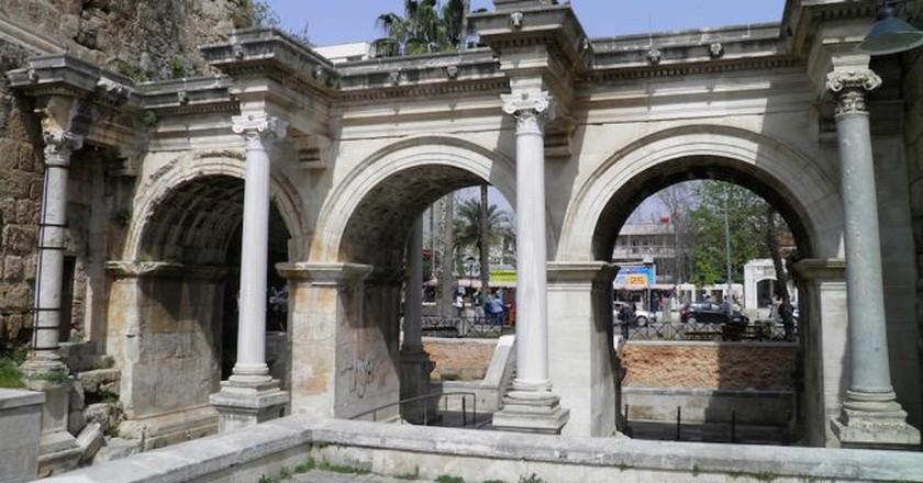 Hadrian's Gate, Antalya   © Carole Raddato / Flickr