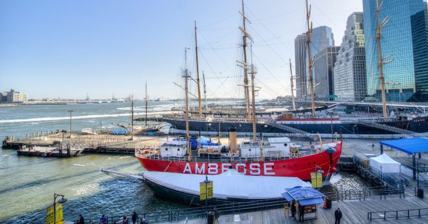 Ambrose ship at South Street Seaport   © m01229/Flickr