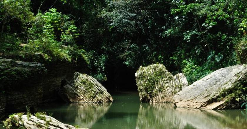 A cave in Utuado, Puerto Rico   © Heidi/ Flickr