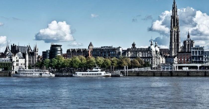 Antwerp skyline   © Dave Van Laere / courtesy of Visit Antwerp