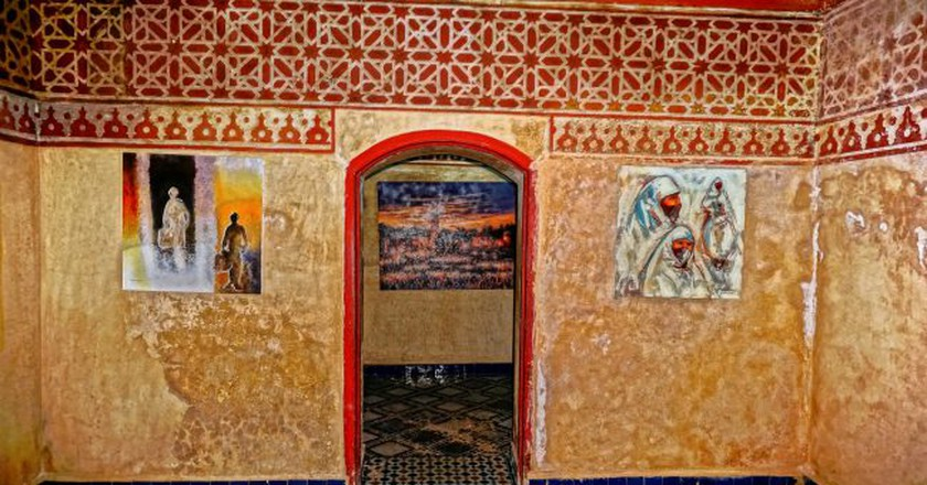 Bright artwork in the Marrakech Museum   © Miguel Discart / Flickr