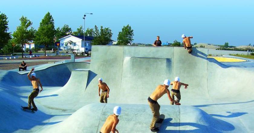 Malmö has a booming skateboard culture |© Björn Söderqvist / Flickr
