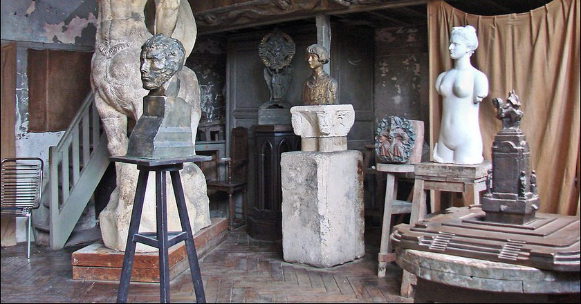 Bourdelle's workshop │© Jean-Pierre Dalbéra / Wikimedia Commons