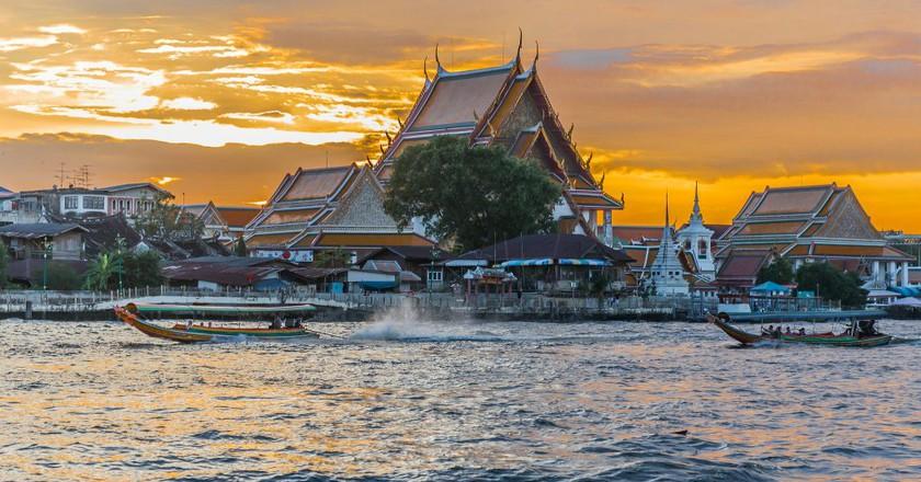 Chao Phraya River, Bangkok, Thailand   © Ninara/Flickr