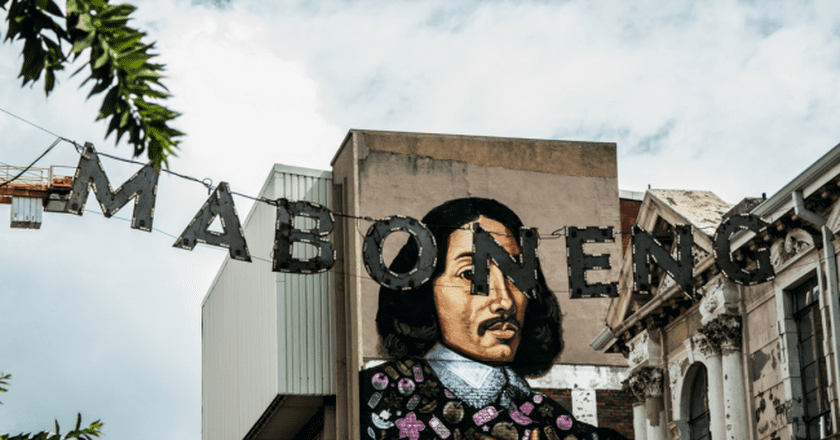 The Jan van Riebeeck mural is one of the most famous works of street art in Maboneng | ©Mathurin Le Goff/Flickr