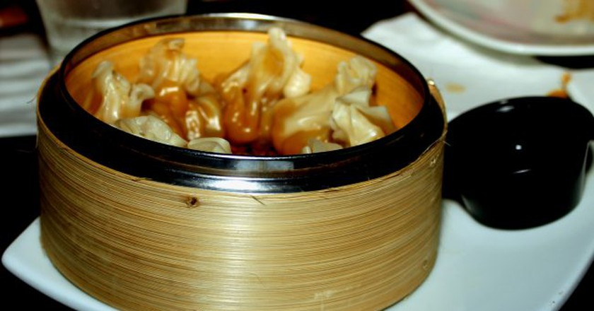 Dumplings from the Dragonfly restaurant in San Juan   © Prayitno/ Flickr