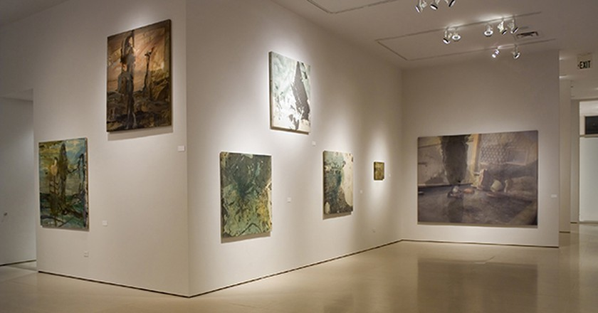 Alejandro Garmendia exhibition at the McClain Gallery in Houston | ©AneSG / Wikimedia Commons