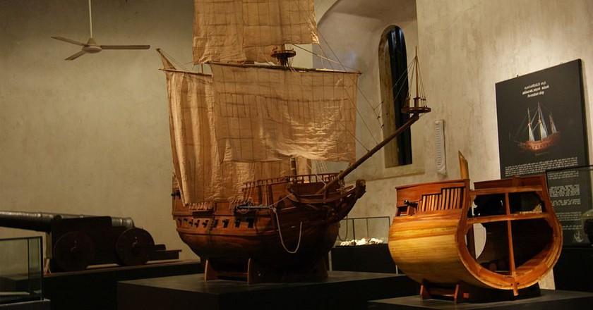 Maritime Museum Galle | © Ji-Elle/WikiCommons