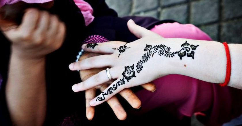 Henna tattoo in Marrakech | © Dani De La Cuesta / Flickr
