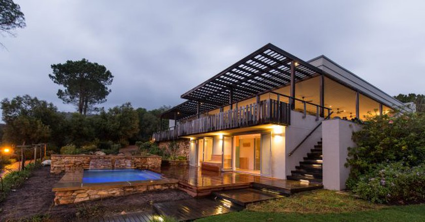 Angala Boutique Hotel is set within the picturesque Franschhoek Valley | Courtesy of Angala Boutique Hotel
