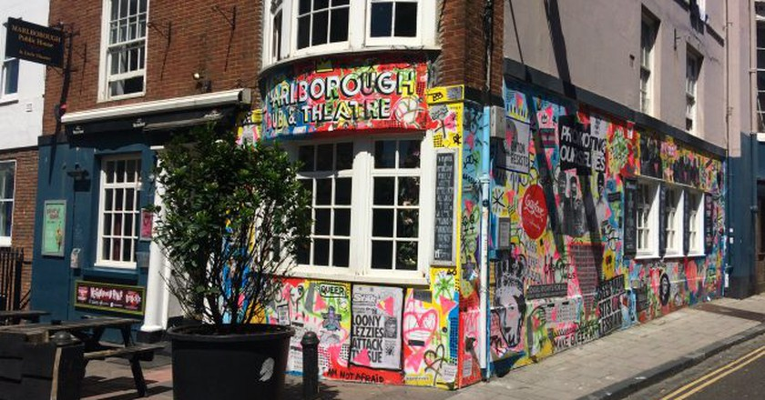 The Marlborough   Courtesy of The Marlborough Pub & Theatre