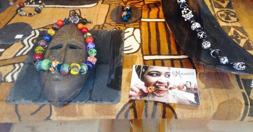 Muranero glass jewelry | Courtesy of the author