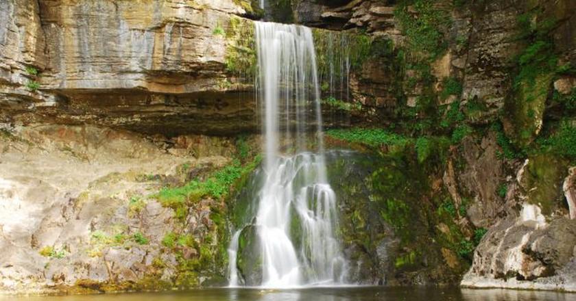 Ingleborough Falls   © keithloaf1961 / Flickr