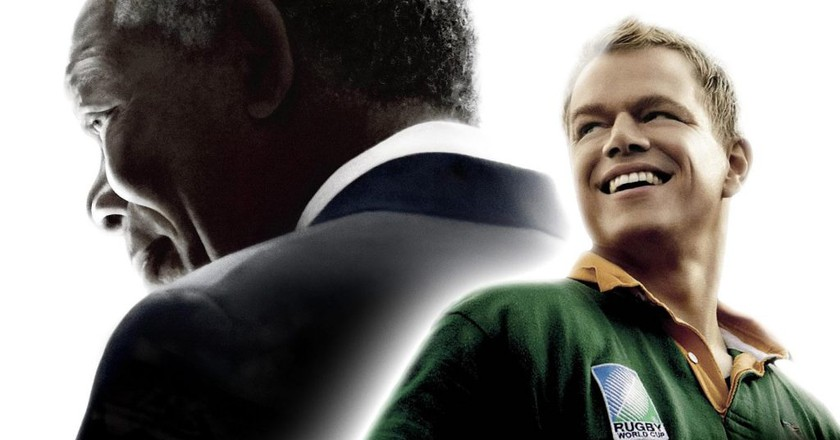 Matt Damon and Morgan Freeman star in Invictus, based on true events | Courtesy of  Warner Bros.