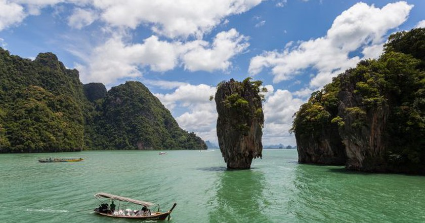 Isla Tapu, Phuket, Thailand (Commonly known as James Bond island) | © Diego Delso/wikicommons
