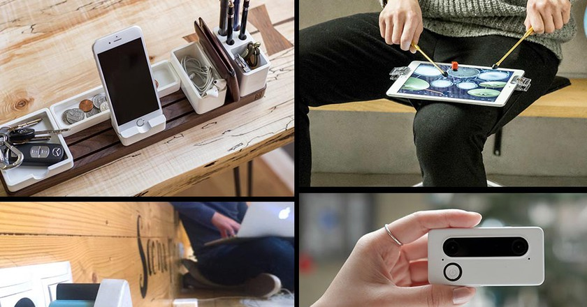 Kickstarter's most exciting projects | Courtesy ACPD, Micro, SID, Gather