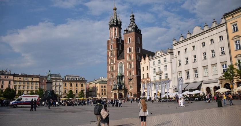Krakow Main Square | © LiveKrakow.com