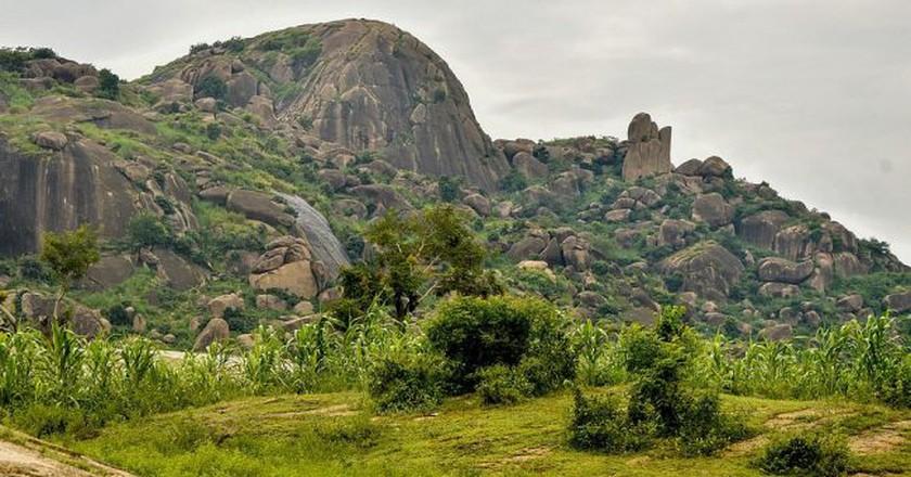 Kufena Rock, Zaria  © Jgwamna / Wikimedia