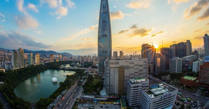 Lotte World Tower | © zjaaosldk/Pixabay