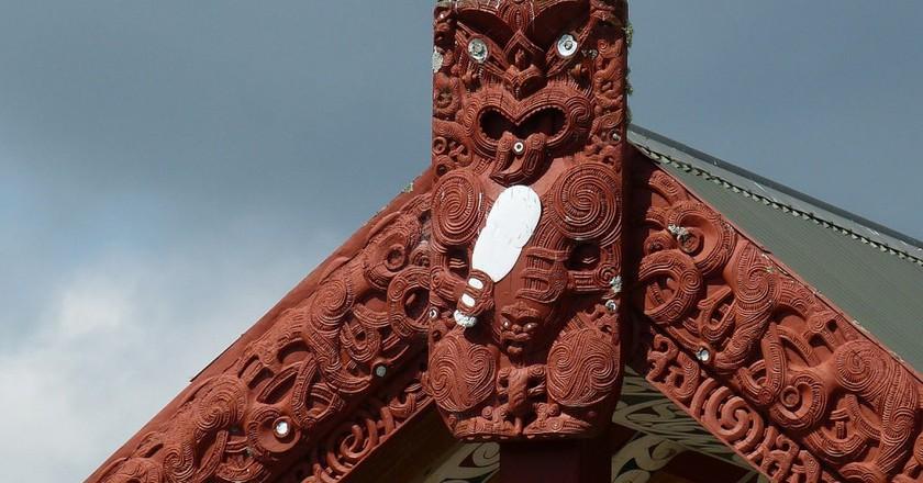 Māori Carvings | © falco/Pixabay