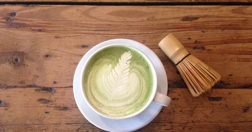 Matcha latte at Leaf, Liverpool   © Leaf/Facebook