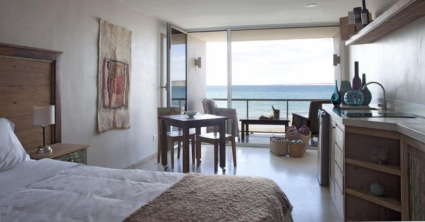 Beachside condominium at Océano Patagonia: Wild Coast Residence   Courtesy of Océano Patagonia: Wild Coast Residence