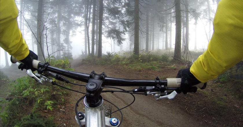 Cycling through the wilderness in Finland | Pexels