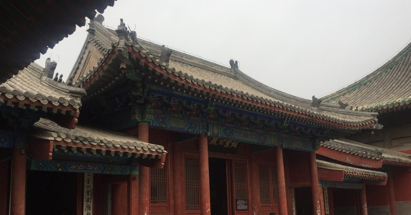 Interior of the Dongyue Temple
