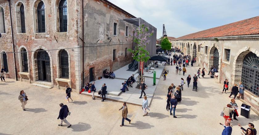 The 57th Biennale di Venezia | Photo Andrea Avezz˘. Courtesy la Biennale di Venezia