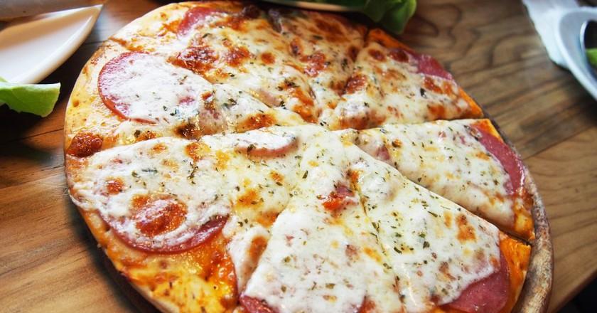 Roman-style pizza © Pixabay