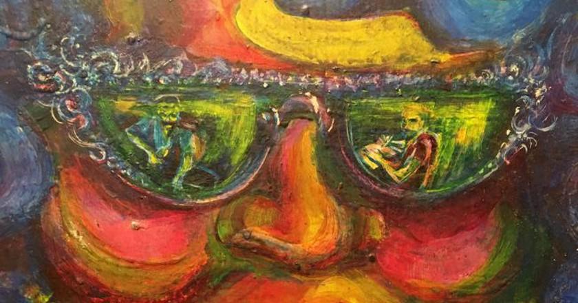"<a href=""https://www.flickr.com/photos/cogdog/24506519184/"" target=""_blank"" rel=""noopener noreferrer"">The Eyes of Carmen Rosa by Antonio Martorell | © Alan Levine / Flickr</a>"