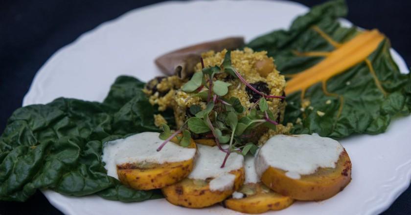 Raw Vegan Dinner | © Edsel Little/Flickr
