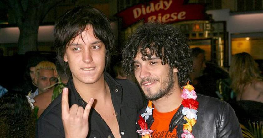 Julian Casablancas and Fabrizio Moretti of The Strokes   © Startraks Photo/REX/Shutterstock
