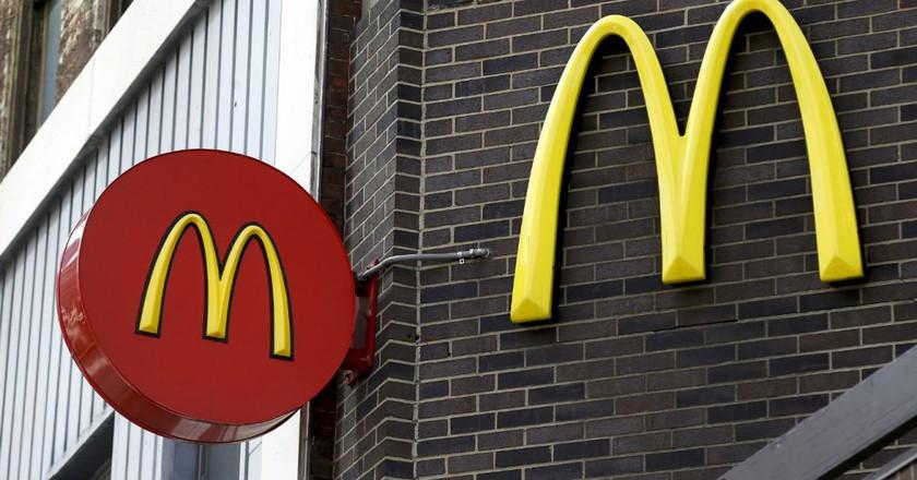 McDonald's sign | © AP/REX/Shutterstock