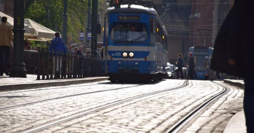 Krakow trams | © LiveKrakow.com