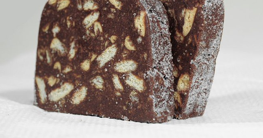 Salame de chocolate | © jppaguilar / Wikimedia Commons