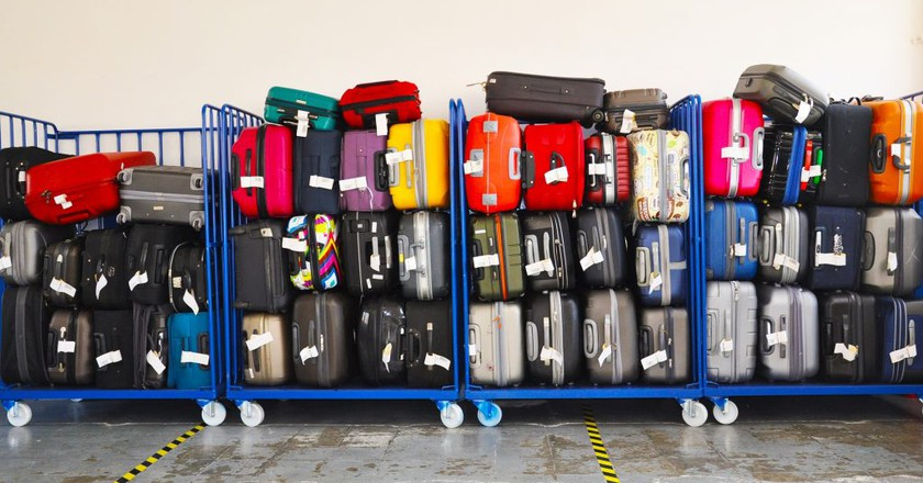 Airline luggage | © Tony Prats
