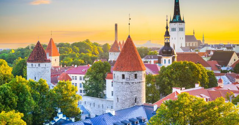 View of Tallinn's Old Town | © ESB Professional/Shutterstock