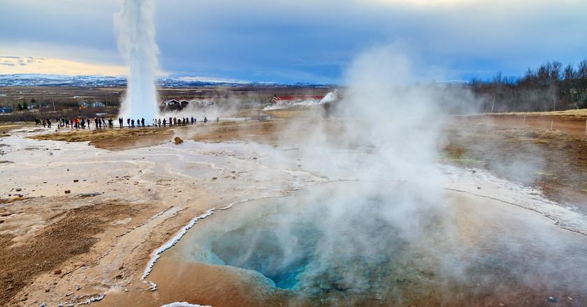 Golden Circle, Iceland    ©  Dennis van de Water/Shutterstock